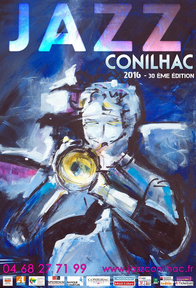 Affiche Festival Jazz Conilhac 2016