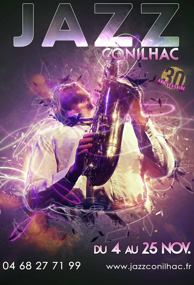 Affiche Festival Jazz Conilhac 2017